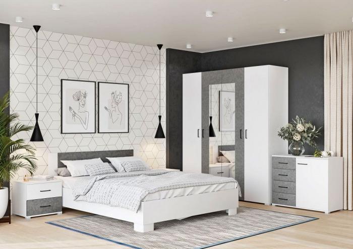 Objevte čistotu a eleganci bílé ložnice