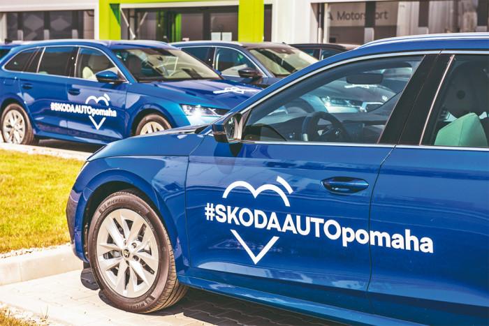 ŠKODA AUTO vysílá pomoc na jižní Moravu do oblastí zasažených tornádem