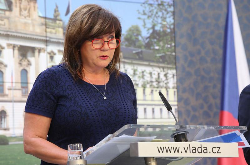 Schillerová: Lidé a firmy v regionech zasažených tornádem získají daňové úlevy
