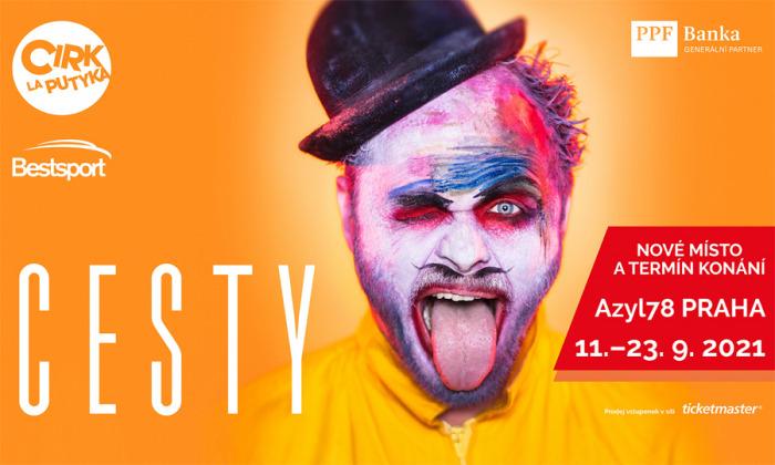 Cirk La Putyka uvede premiéru svého největšího projektu Cesty v září v šapitó Azyl78