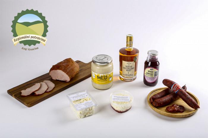 Regionální potravina zná další úspěšné výrobky, tentokrát z Kraje Vysočina