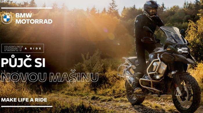 Jedinečná půjčovna BMW Motorrad je již dostupná i v České republice