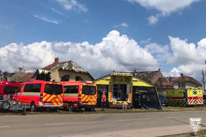 Pražští záchranáři provozují na Moravě předsunutou základnu ve speciálu Golem