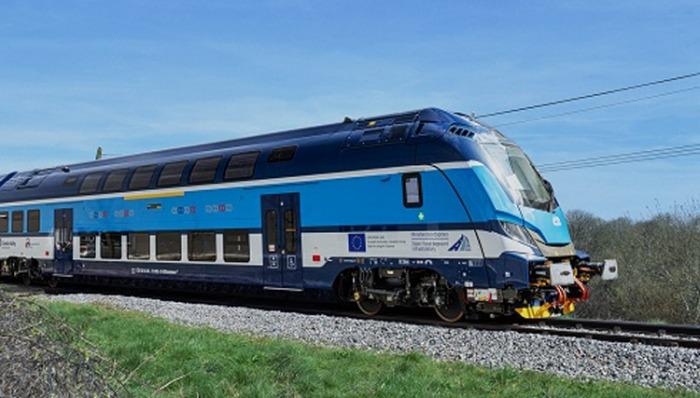 Ve Velimi proběhlo představení nových vlaků typu push-pull pro Moravskoslezský kraj