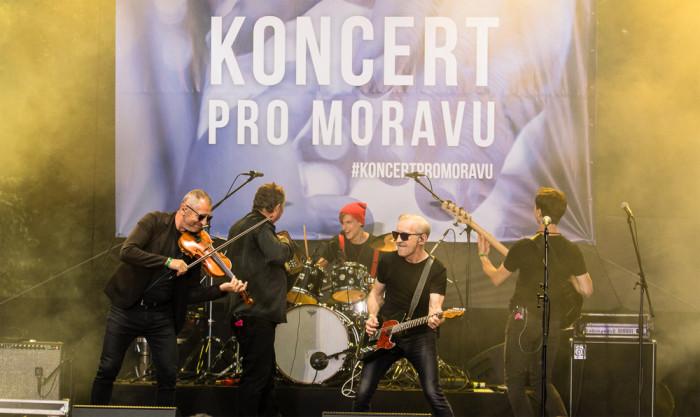 Benefiční Koncert pro Moravu pokořil rekord v dárcovských zprávách. Vynesl téměř 12 milionů korun