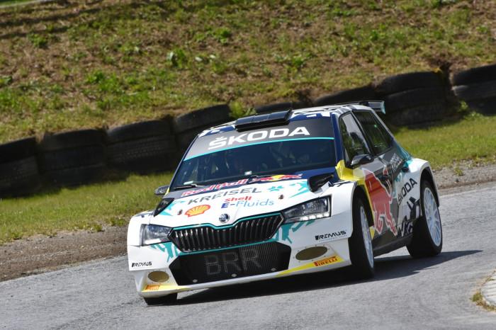 ŠKODA Motorsport podporuje vývoj elektrického rallyového speciálu ŠKODA RE-X1 Kreisel