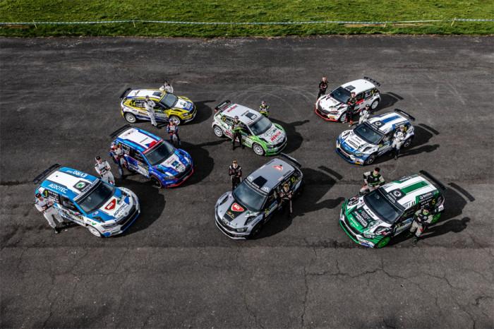 ŠKODA AUTO se připravuje na Rally Bohemia, kde oslaví 120. výročí svého působení v motorsportu