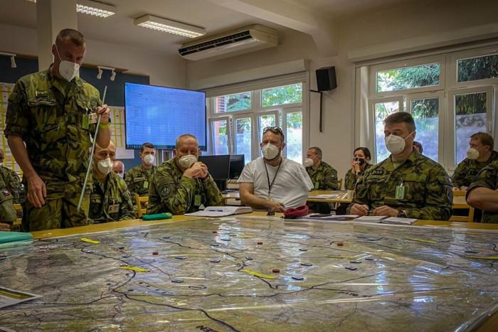 Schopnost plánovat a řídit operace při vyhlášení válečného stavu prověří Český lev