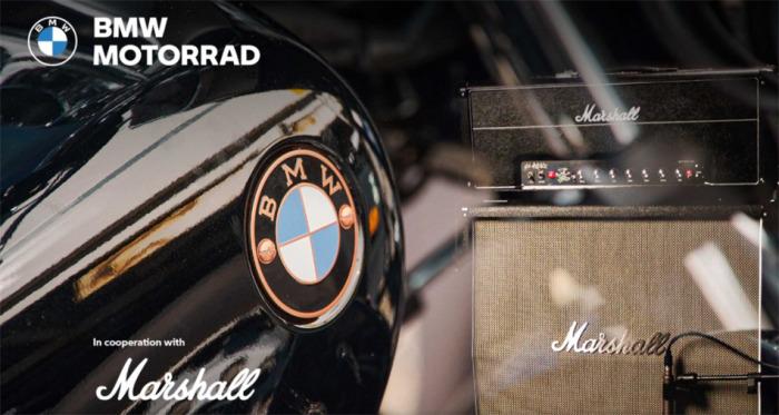 BMW Motorrad a Marshall oznamují strategické partnerství