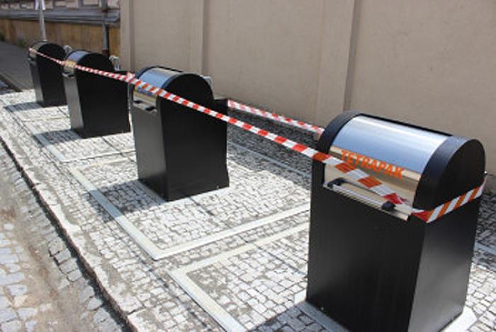 Město Jičín má třetí hnízdo podzemních kontejnerů, nachází se v Lindnerově ulici