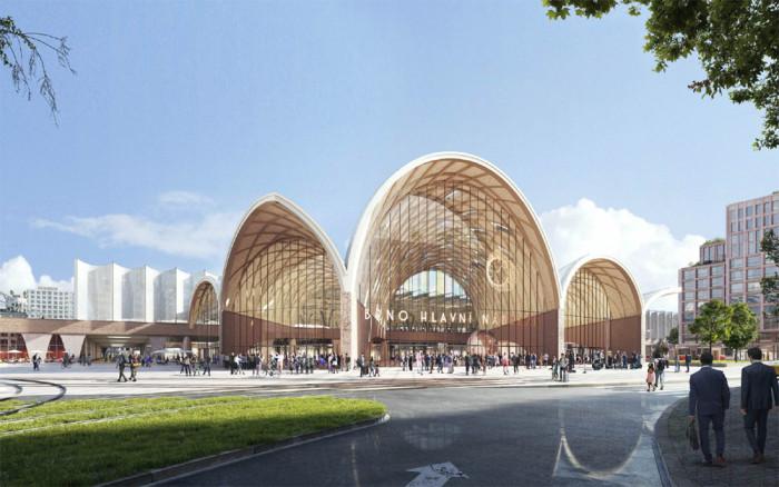 Soutěž na nové brněnské nádraží vyhráli nizozemští architekti, nádraží má stát skoro 50 miliard
