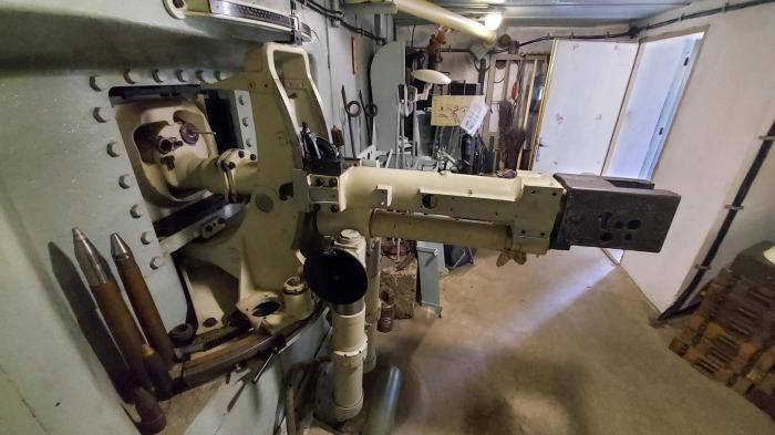 Vojenský klub v rámci zbraňové amnestie chtěl odevzdat pevnostní kanón