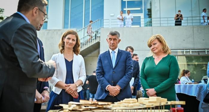 V  Brně se premiér Babiš seznámil s projektem modernizace Masarykova onkologického ústavu