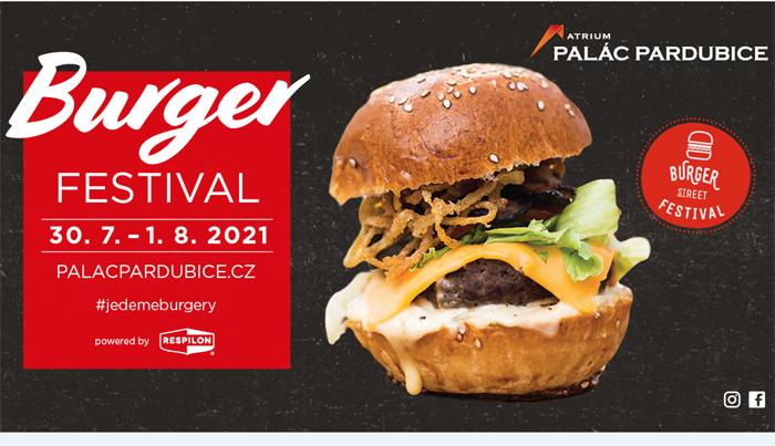 Burger Street Festival před Palácem Pardubice začne již 30. července