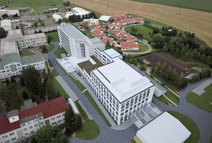 Dostavbu rychnovské nemocnice kraj zahájí příští rok s podporou státu