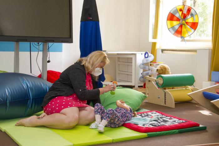 Olomoucká pobočka Společnosti pro ranou péči chce odlehčovací službou poskytovat pomoc dětem i pečujícím rodinám