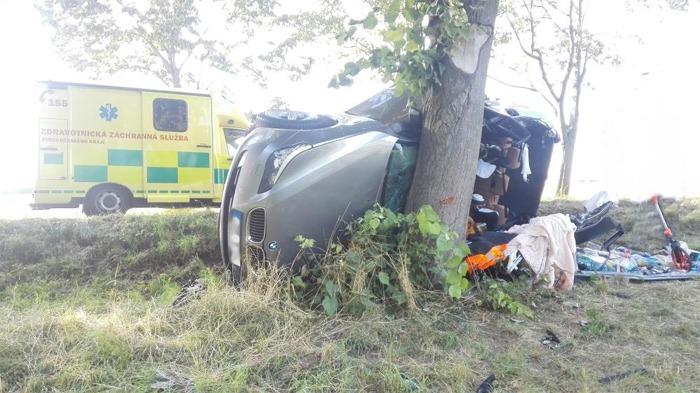 Tragická nehoda u obce Košice si vyžádala dva lidské životy