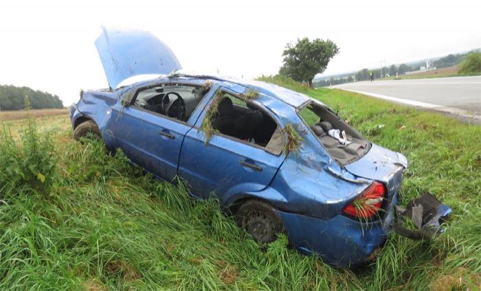 D隝, nehoda a auto na odpis
