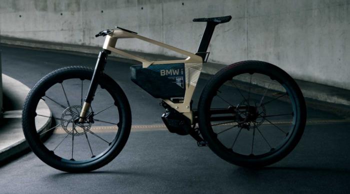 BMW i Vision AMBY - elektrokolo, které představuje jednostopé řešení pro městskou mobilitu budoucnosti