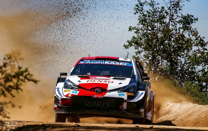 Toyota Yaris WRC vyráží na legendární Rallye Akropolis v Řecku