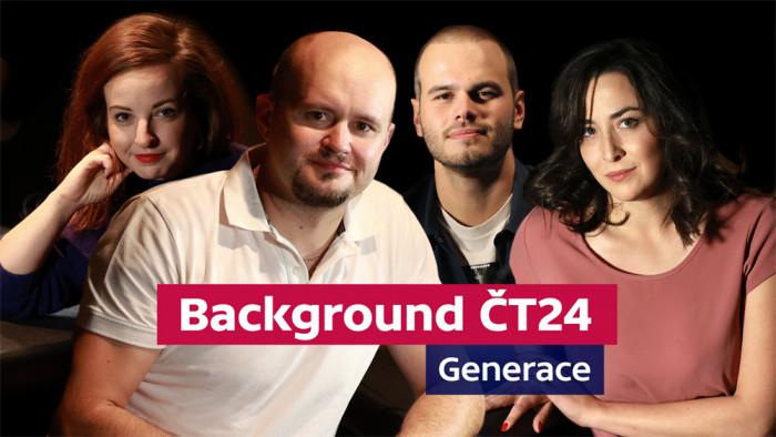 Nová podcastová série Background ČT24: Generace provede etapami české novinařiny