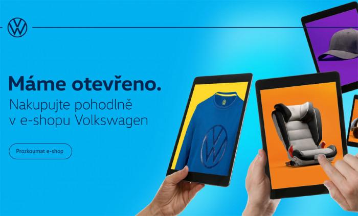 Moderní design, jednoduchý výběr - Volkswagen přichází s novým E-shopem