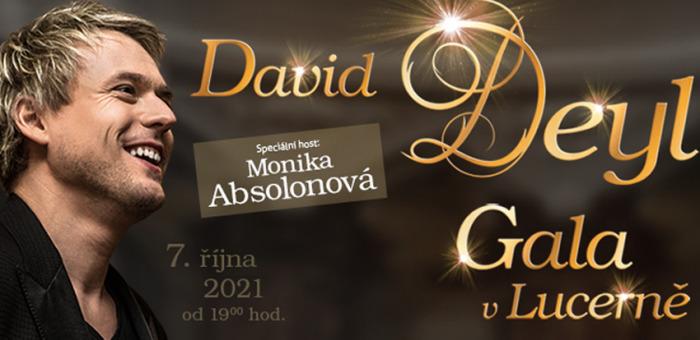 David Deyl poprvé v pražské Lucerně - splněný sen se blíží
