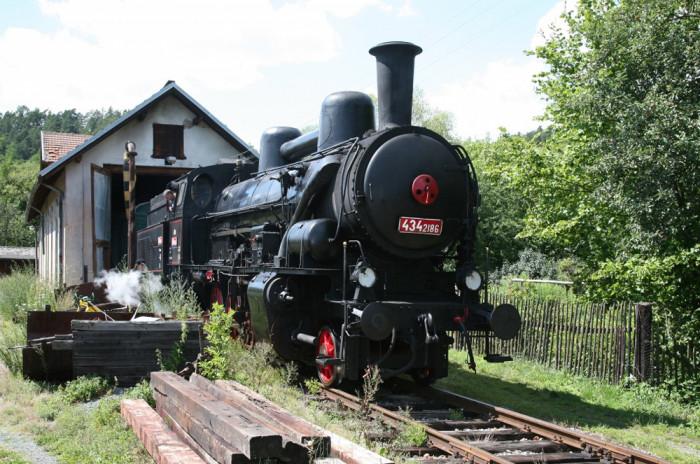 V Táboře se bude slavit 150 let tratě z Vídně do Prahy, vyjede i parní lokomotiva