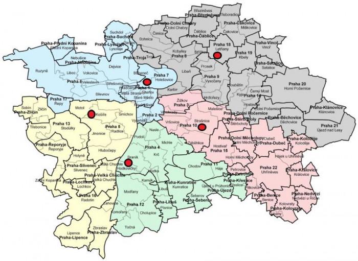 Voliči v karanténě nebo izolaci kvůli covidu-19 mohou v Praze hlasovat z auta na pěti stanovištích