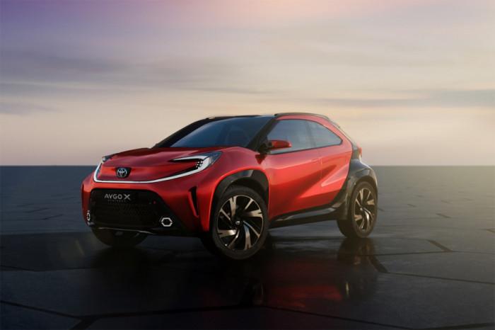 Toyota odhalí nové Aygo X vyráběné v Kolíně