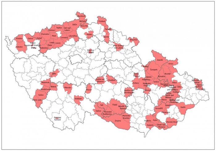 Olomoucký kraj inicioval významné změny v budoucí podpoře hospodářsky a sociálně ohrožených území