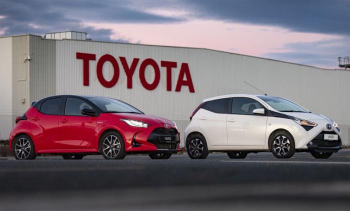 Toyota slaví 50 let výroby v Evropě