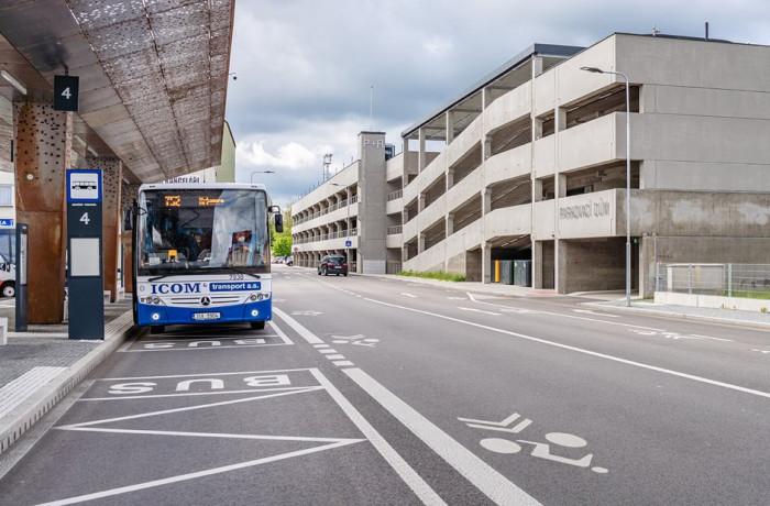 Modernizované přestupní terminály zvyšují úroveň cestování