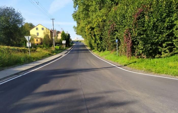 Silnice ze Studénky do Pustějova je po rekonstrukci