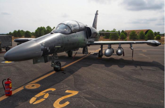 Čáslavští piloti sehráli ve Španělsku netradičně roli nepřítele