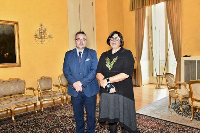 Náměstek Tlapa se setkal s izraelskou velvyslankyní Azari u příležitosti zahájení její mise v Praze