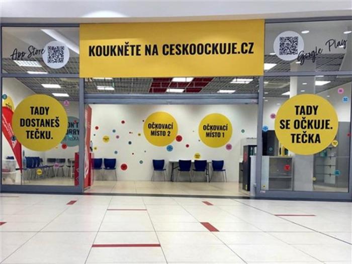 Očkovací centrum v OC Forum končí. Vakcinace proti COVID-19 pokračuje v ústecké Masarykově nemocnici