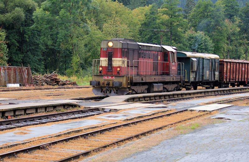 Rekonstrukce zlepší parametry trati pro nákladní vlaky v Děčíně