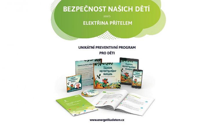 Preventivní program naučí děti, jak se chránit před úrazem elektrickým proudem a mnohem více