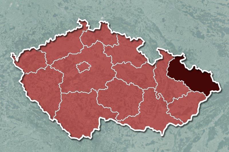 Přibylo 1497 nakažených, nejvíce se infekce šíří v Moravskoslezském kraji