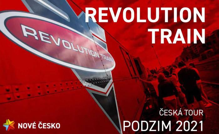 REVOLUTION TRAIN v Náchodě nabídne 8. listopadu ojedinělou protidrogovou prevenci