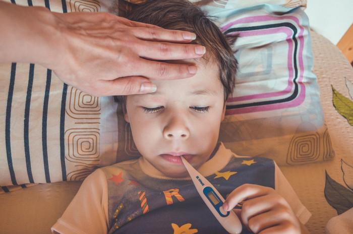 Dětská oddělení Pardubického kraje plní virová infekce dýchacích cest
