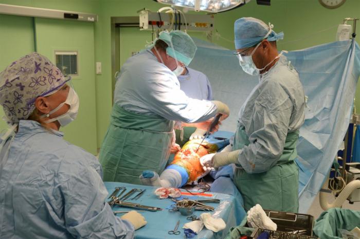 Ortopedové ve Fakultní nemocnici u sv. Anny v Brně denně implantují až osm endoprotéz