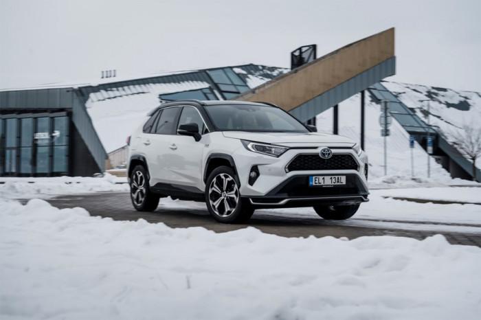 Toyota připraví vůz na bezpečné zimní cestování