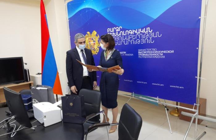 Náměstkyně Martina Tauberová jednala v Arménii o příležitostech pro české firmy