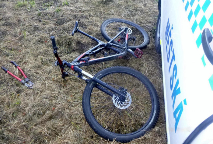 Českobudějovičtí strážníci zadrželi pachatele krádeže jízdního kola