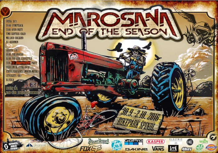 Marosana: End Of The Season Vol: 18 ? Poprv� ve �pindlu!