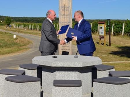 Dohoda o p�eshrani�n� spolupr�ci jihomoravsk�ch a dolnorakousk�ch z�chran��� podeps�na