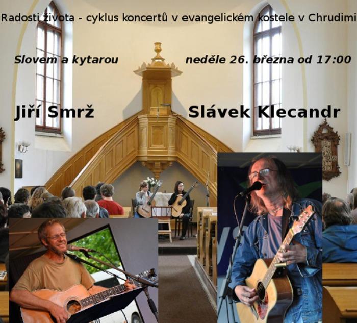 Radosti života - cyklus koncertů v evangelickém kostele v Chrudimi