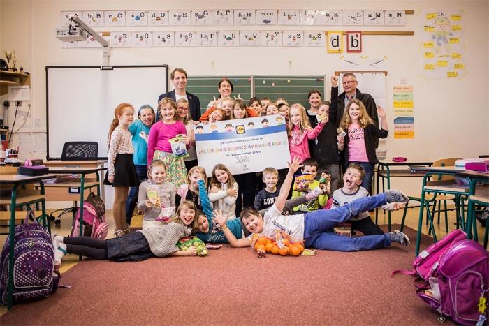 ZŠ Studentská v Mnichově Hradišti získala 95250 korun